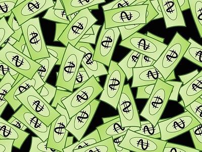 notas de dinheiro - ilustração
